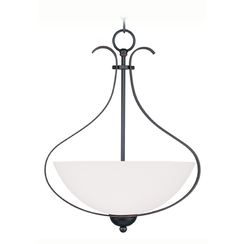 Livex Lighting Livex Lighting Brookside Olde Bronze Pendant Light 4764-67
