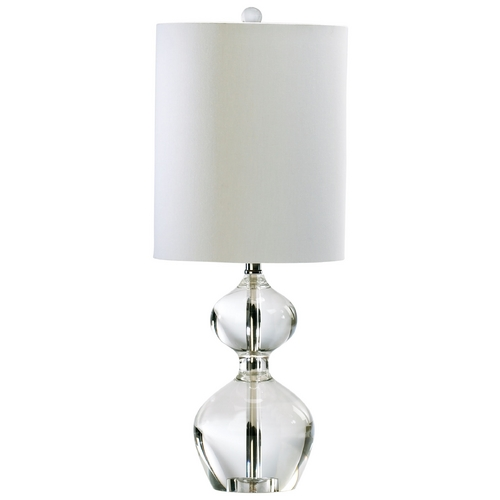 Cyan Design Cyan Design Sydney Clear Table Lamp with Cylindrical Shade 02988