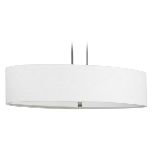 Capital Lighting Capital Lighting Loft Matte Nickel Island Light with Oval Shade 3926MN-630