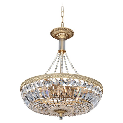Allegri Lighting Aulio 18in Pendant w/ Antique Gold 025850-031-FR001