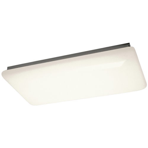 Kichler Lighting Kichler Modern Flushmount Light with White Acrylic in White Finish 10303WH