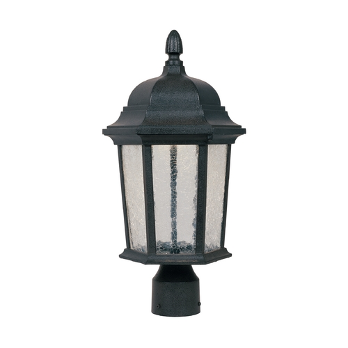 Designers Fountain Lighting LED Post Light with Clear Glass in Driftwood Finish LED2776-DWD