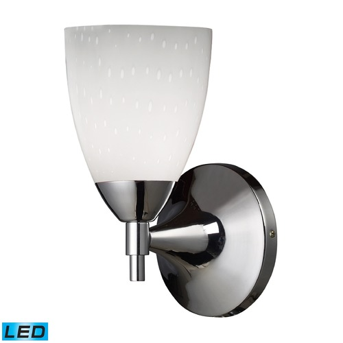 Elk Lighting Elk Lighting Celina Polished Chrome LED Sconce 10150/1PC-WH-LED