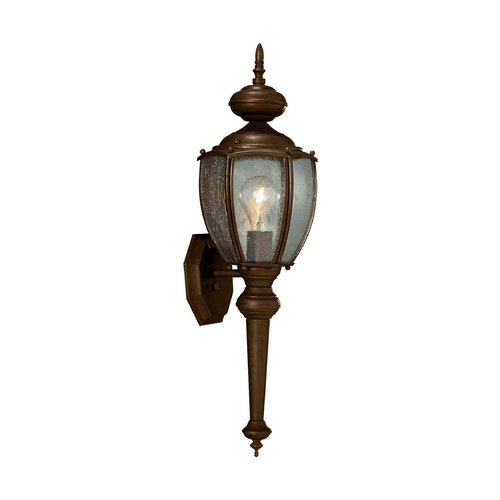 Progress Lighting Outdoor Wall Light with Clear Glass in Antique Bronze Finish P5767-20