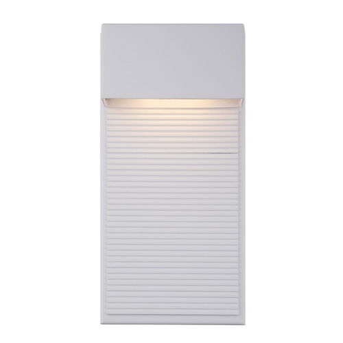 Modern Forms by WAC Lighting Modern Forms Hiline White LED Outdoor Wall Light WS-W2312-WT