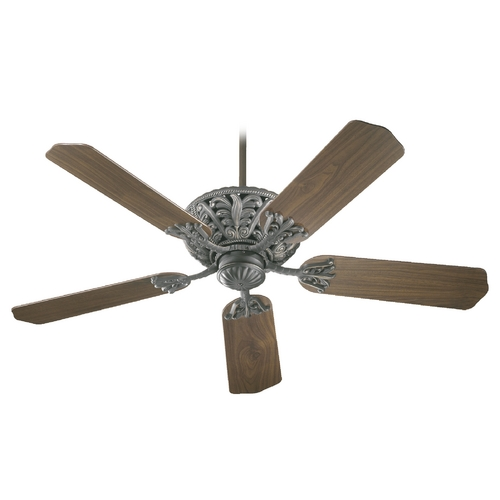 Quorum Lighting Quorum Lighting Windsor Old World Ceiling Fan Without Light 85525-95