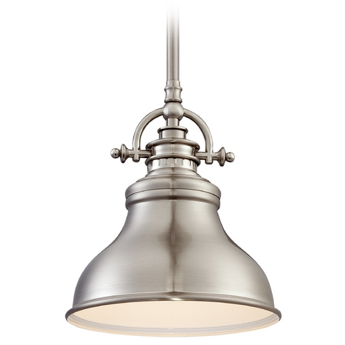 Quoizel Lighting Quoizel Emery Brushed Nickel Mini-Pendant Light ER1508BN