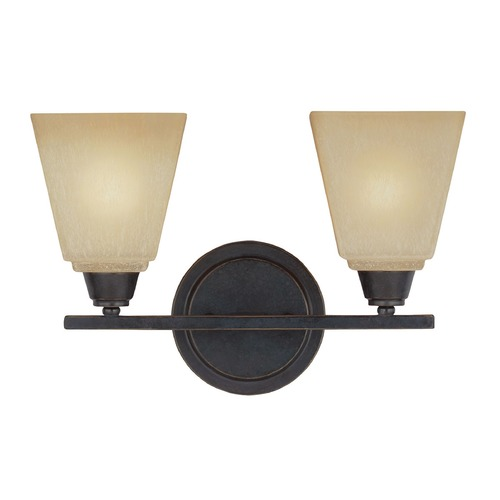 Sea Gull Lighting Sea Gull Lighting Parkfield Flemish Bronze Bathroom Light 4413002-845