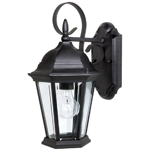 Capital Lighting Capital Lighting Carraige House Black Outdoor Wall Light 9726BK