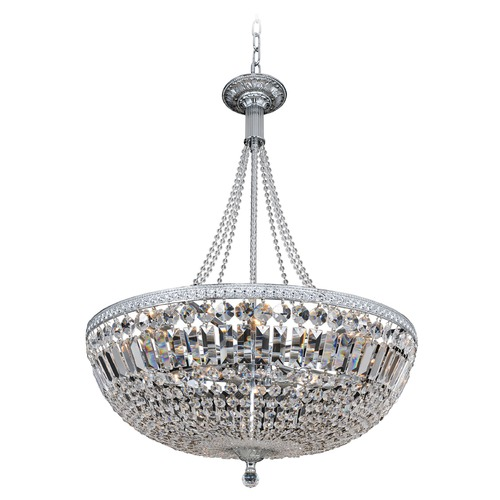 Allegri Lighting Aulio 24in Pendant w/ Chrome 025851-010-FR001