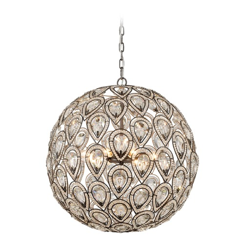 Elk Lighting Elk Lighting Evolve Weathered Zinc Pendant Light 11935/8
