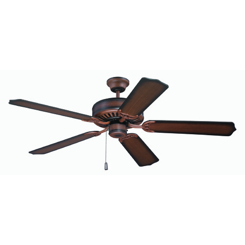 Craftmade Lighting Craftmade Pro Builder Biscay Walnut Ceiling Fan Without Light K11134