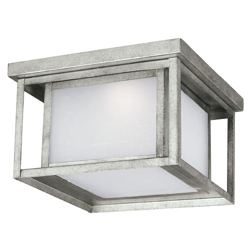 Sea Gull Lighting Sea Gull Lighting Hunnington Weathered Pewter LED Close To Ceiling Light 7903997S-57