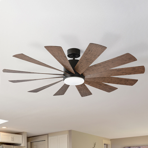 Modern Forms by WAC Lighting Modern Forms Oil Rubbed Bronze 60-Inch LED Smart Ceiling Fan 2041LM 3000K FR-W1815-60L-OB/DW