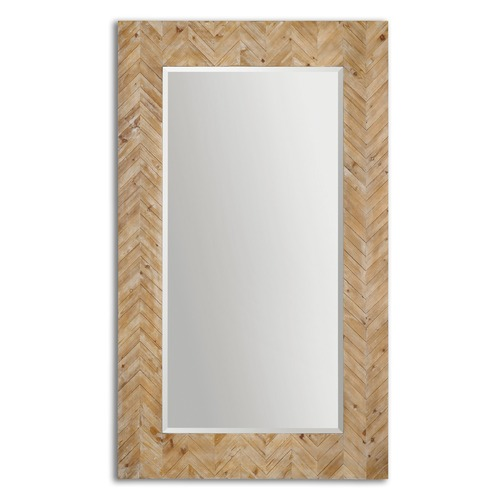 Uttermost Lighting Uttermost Demetria Oversized Wooden Mirror 07068