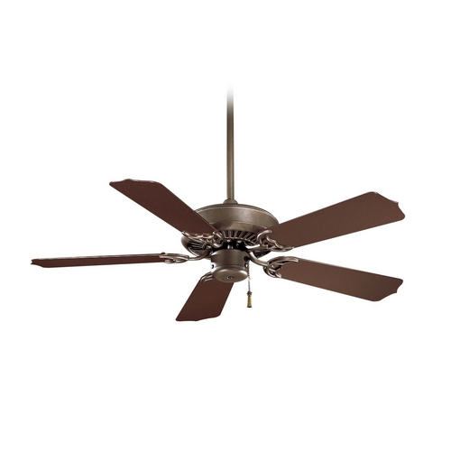 42 Inch Ceiling Fan Without Light In Oil Rubbed Bronze