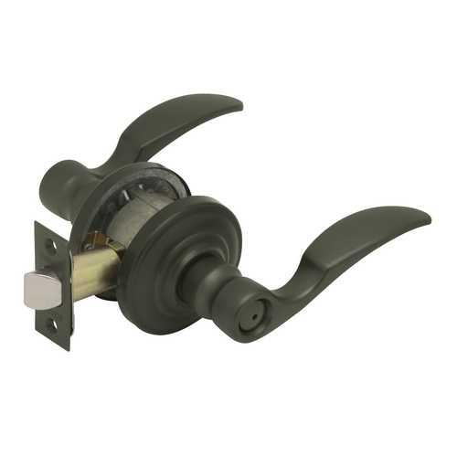 Oil Rubbed Bronze Reversible Curvedlever Privacy Set Sh Fa40Sta613Revsh