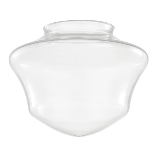 Design Classics Lighting Clear Glass Shade 6-Inch Wide - 3-Inch Fitter Opening GC6-CL