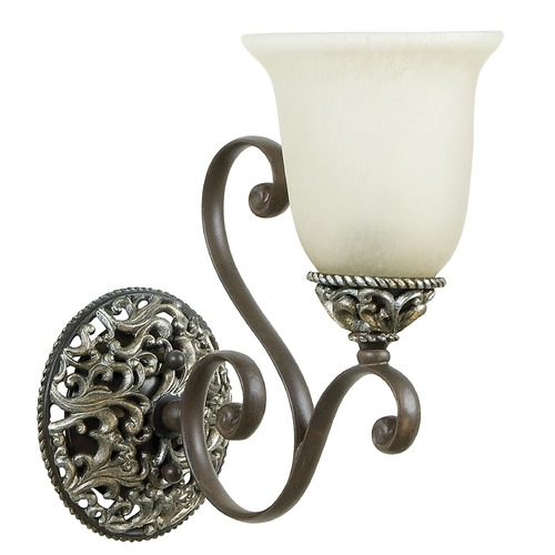 Craftmade Lighting Craftmade Mia Aged Bronze, Vintage Madera Sconce 7506AGVM1