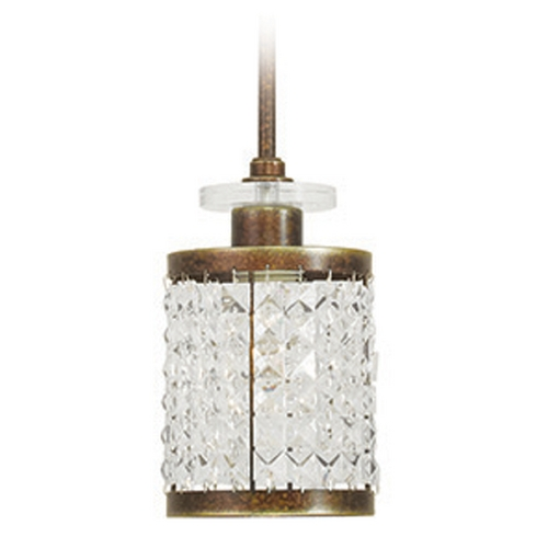 Livex Lighting Livex Lighting Grammercy Hand Painted Palacial Bronze Mini-Pendant Light 50560-64