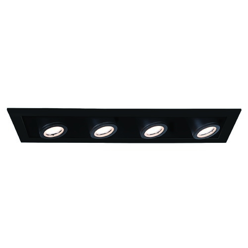 WAC Lighting Wac Lighting Silo Multiples Black / Black LED Recessed Kit MT-4410T-930-BKBK