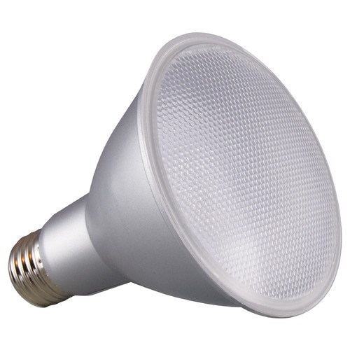 Satco Lighting Satco 12.5 Watt PAR30LN LED 3500K 1000LM 60 deg. Beam Medium Base 120 Volt Dimmable S29437