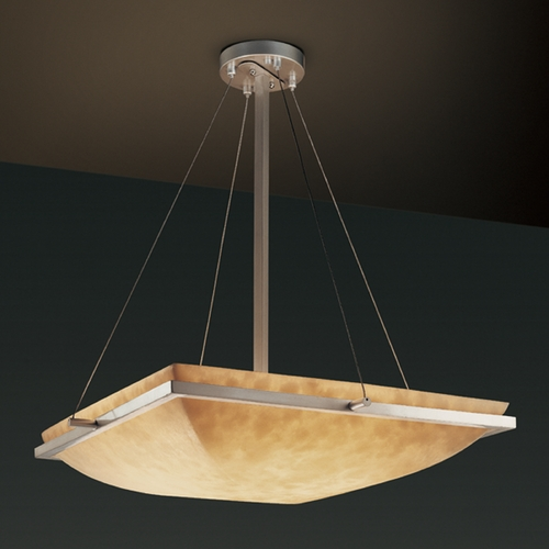 Justice Design Group Justice Design Group Clouds Collection Pendant Light CLD-9791-25-NCKL