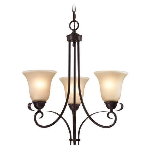 Cornerstone Lighting Cornerstone Lighting Brighton Oil Rubbed Bronze Chandelier 1003CH/10