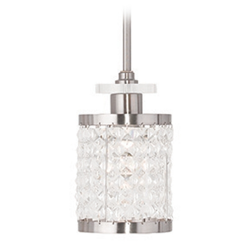 Livex Lighting Livex Lighting Grammercy Brushed Nickel Mini-Pendant Light 50560-91