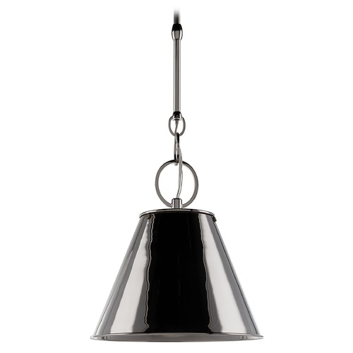 Hudson Valley Lighting Modern Pendant Light in Polished Nickel Finish 5511-PN