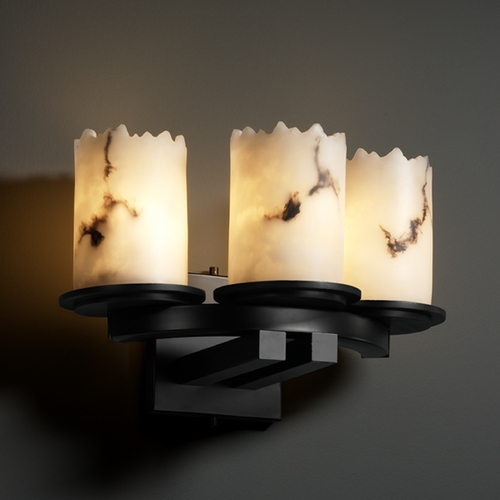 Justice Design Group Justice Design Group Lumenaria Collection Sconce FAL-8776-12-MBLK