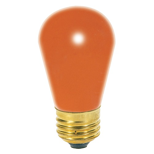 Satco Lighting Incandescent S14 Light Bulb Medium Base 130V by Satco S4564