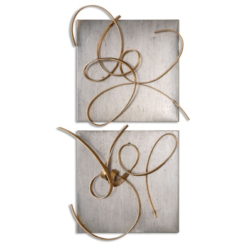 Uttermost Lighting Uttermost Harmony Metal Wall Art, Set of 2 07071