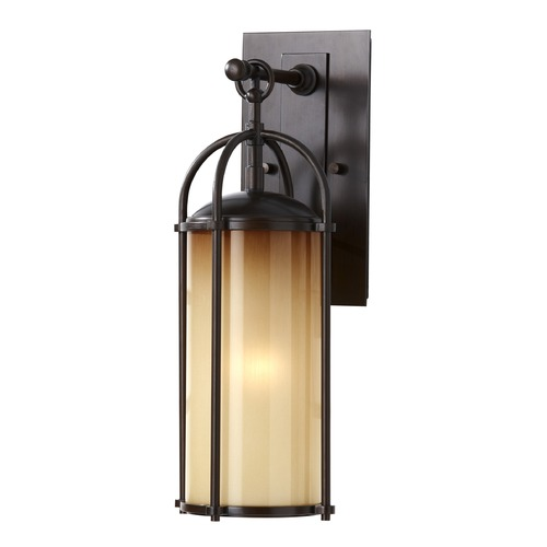 Feiss Lighting Feiss Lighting Dakota Heritage Bronze LED Outdoor Wall Light OL7604HTBZ-LED