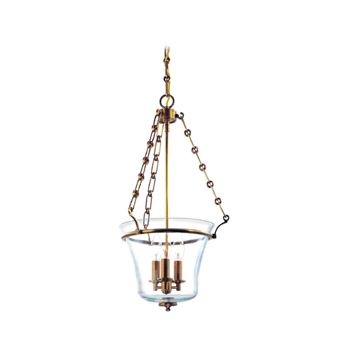 Hudson Valley Lighting Pendant Light with Clear Glass in Polished Nickel Finish 831-PN