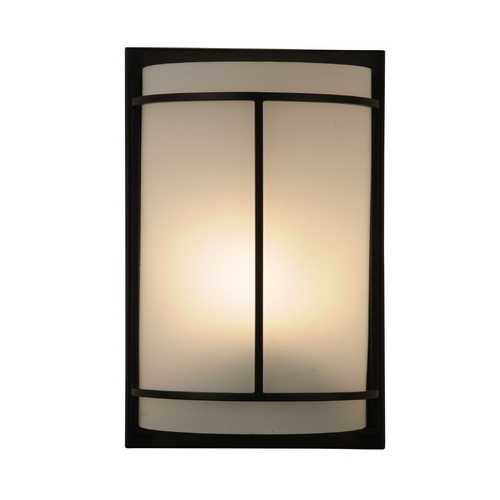 Design Classics Lighting ADA Approved Single-Light Sconce with Metal Banded Accents DCL 6711-78