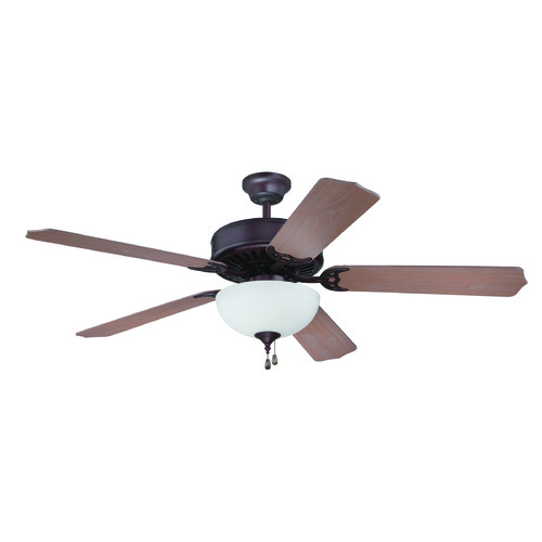 Craftmade Lighting Craftmade Pro Builder 201 Oiled Bronze Ceiling Fan with Light K11199