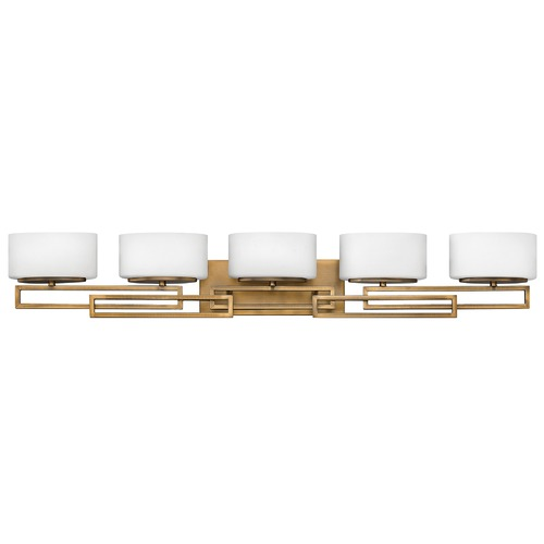 Hinkley Hinkley Lanza 5-Light Brushed Bronze LED Bathroom Light 3000K 2125LM 5105BR-LED