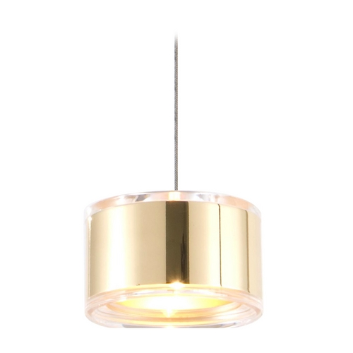 Holtkoetter Lighting Holtkoetter Modern Low Voltage Mini-Pendant Light C8120 S006 GB60 PB