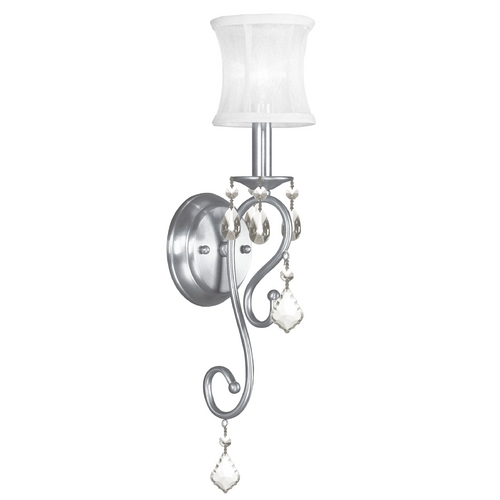 Livex Lighting Livex Lighting Newcastle Brushed Nickel Sconce 6301-91