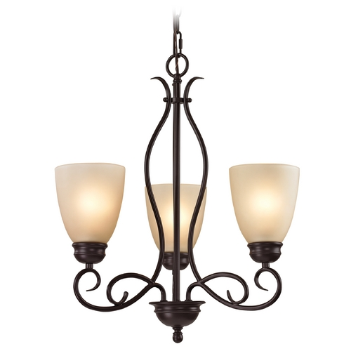 Cornerstone Lighting Cornerstone Lighting Chatham Oil Rubbed Bronze Chandelier 1103CH/10