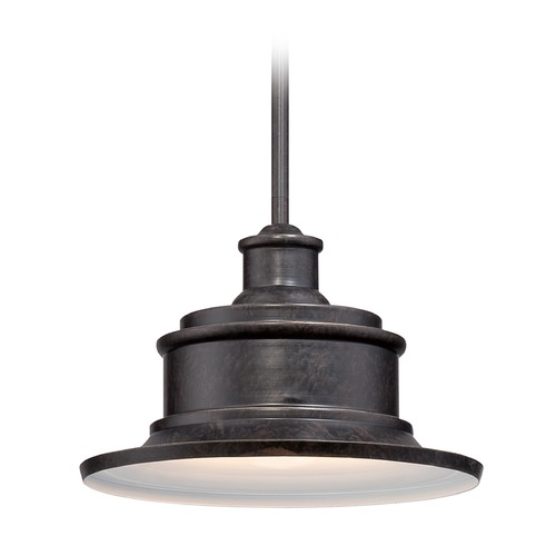 Quoizel Lighting Quoizel Seaford Imperial Bronze Outdoor Hanging Light SFD1911IBFL