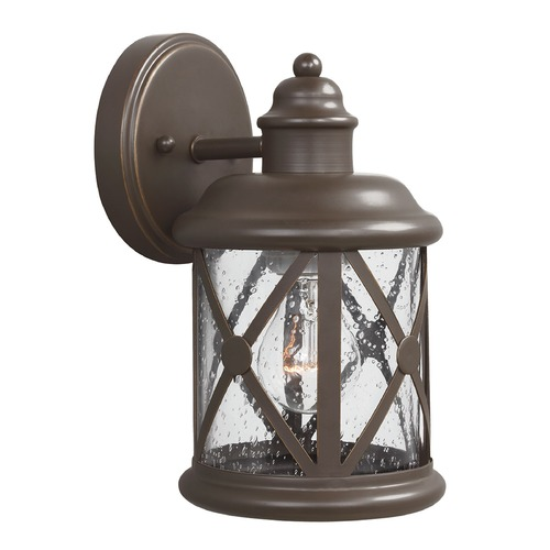 Sea Gull Lighting Sea Gull Lighting Lakeview Antique Bronze Outdoor Wall Light 8521401-71