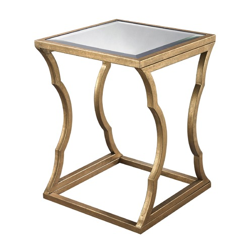 Elk Lighting Metal Cloud Side Table 114-118