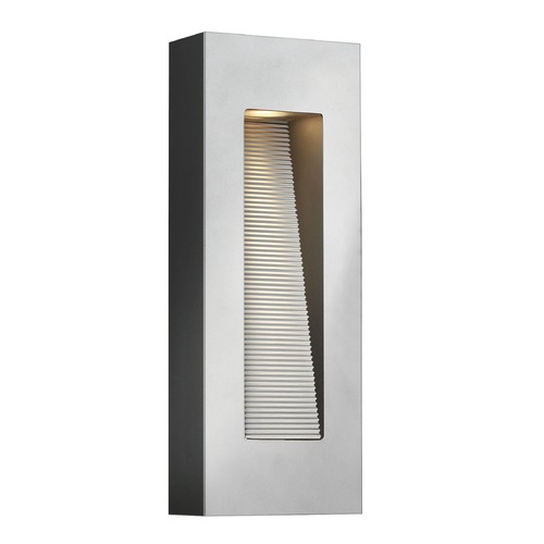 Hinkley Lighting Hinkley Lighting Luna Titanium LED Outdoor Wall Light 1668TT-LED