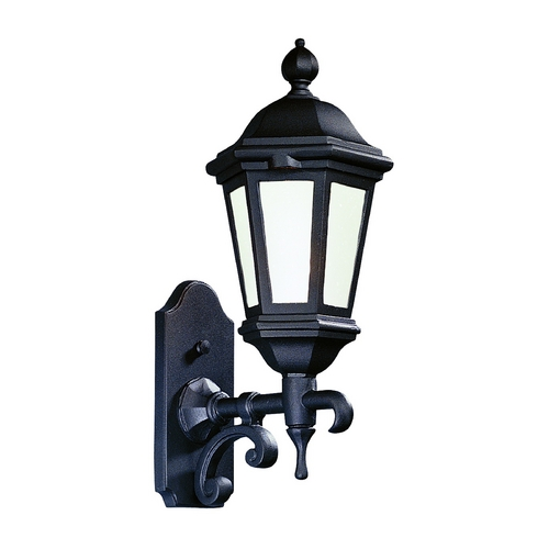 Troy Lighting Outdoor Wall Light with Clear Glass in Antique Bronze Finish BFCD6830ABZ