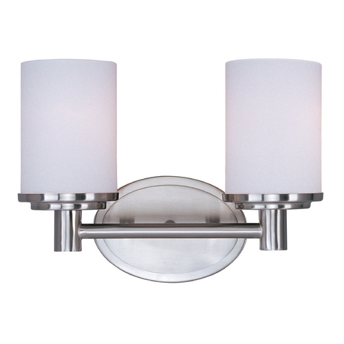 Maxim Lighting Maxim Lighting Cylinder Satin Nickel Bathroom Light 9052SWSN