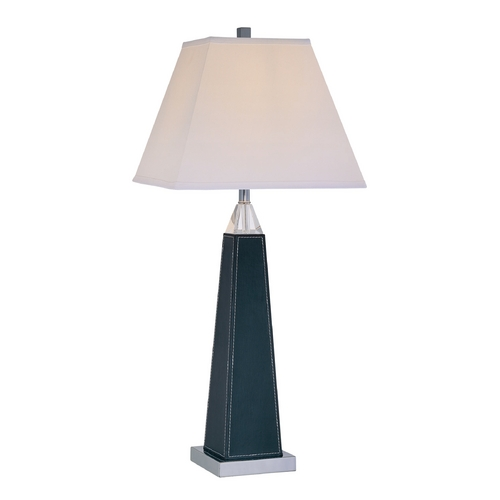 Lite Source Lighting Lite Source Lighting Edena Chrome Table Lamp with Rectangle Shade LS-21497