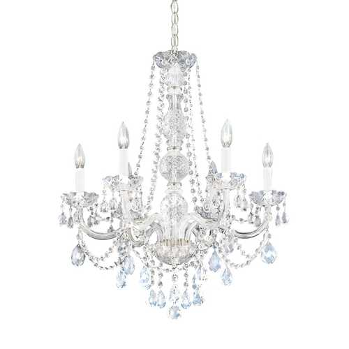 Schonbek Lighting Six-Light Heritage Crystal Chandelier 1303-40H