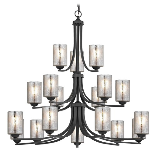 Design Classics Lighting Design Classics Dalton Fuse Neuvelle Bronze Chandelier 5863-220 GL1039C
